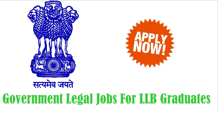 Government Legal Jobs For LLB Graduates