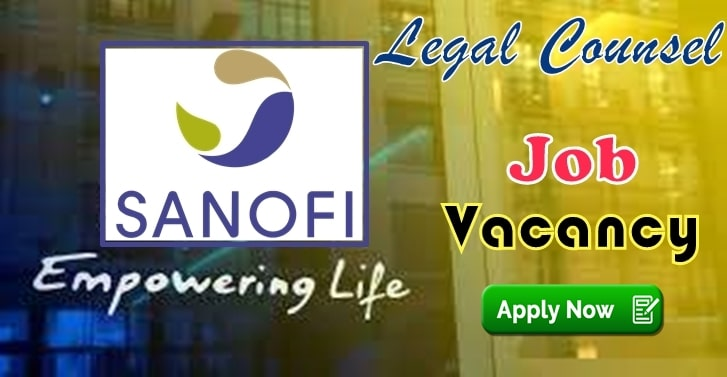 Legal Counsel Vacancy At Sanofi Apply To This Vacancy