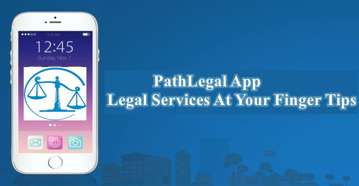 PathLegal App-Legal Services At Your Finger Tips