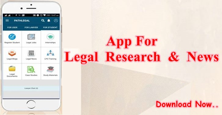 App For Legal Research & News