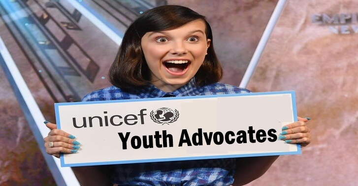 Youth Advocates Of UNICEF From Around The World