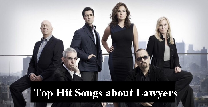 Top Hit Songs about Lawyers