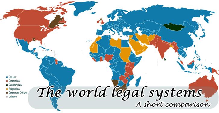 �The world four major legal systems: A short comparison