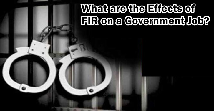 What are the Effects of FIR on a Government Job?