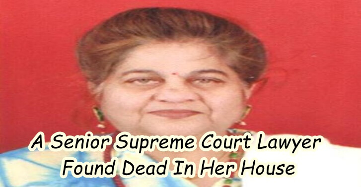 A Senior Supreme Court Lawyer Found Dead In Her House
