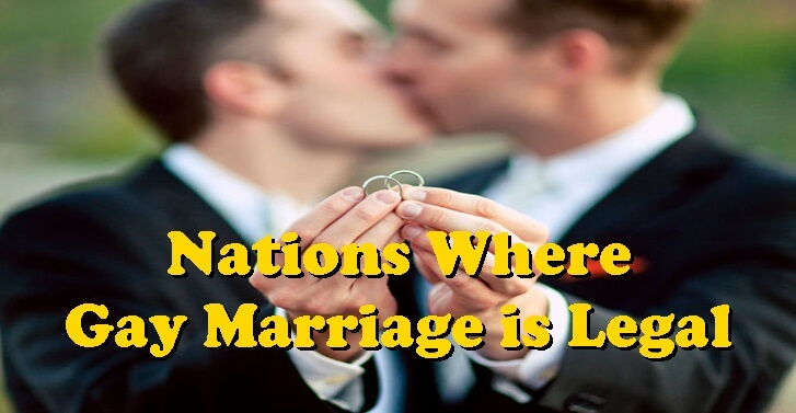 Nations Where Gay Marriage is Legal