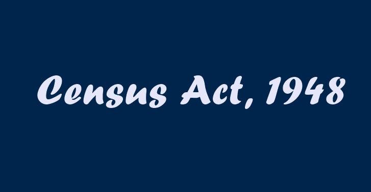 Census Act 1948