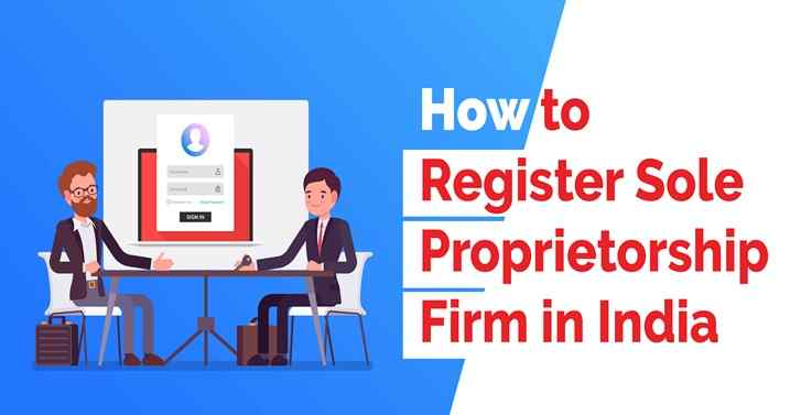 Online Sole Proprietorship Registration India