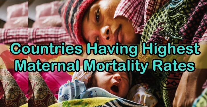 Countries Having Highest Maternal Mortality Rates