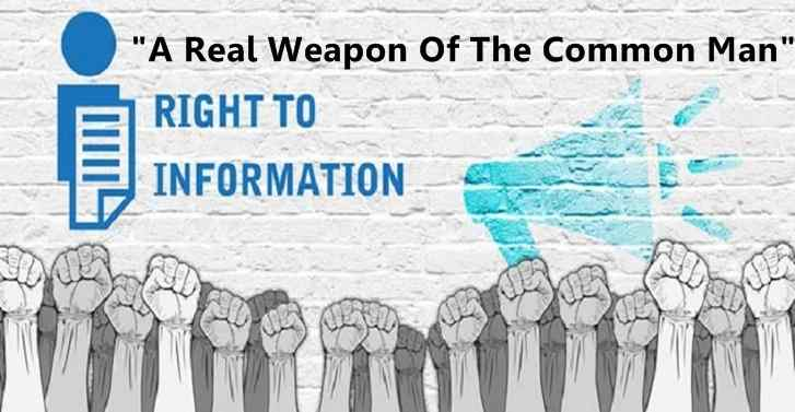 RIGHT TO INFORMATION: