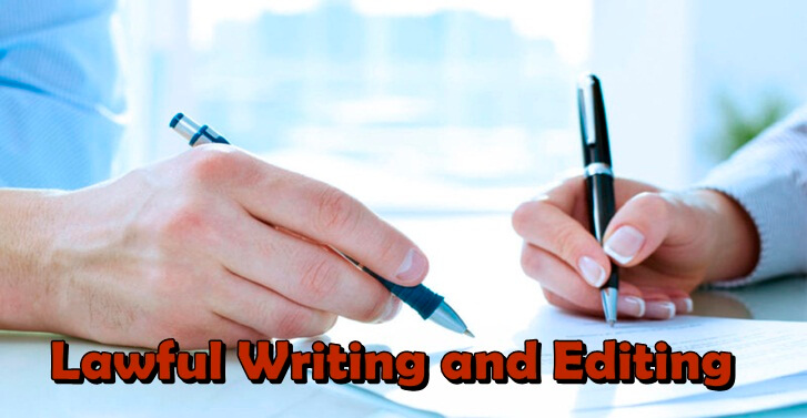 Lawful Writing and Editing