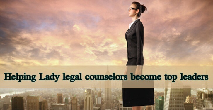 Helping Lady legal counselors become top leaders