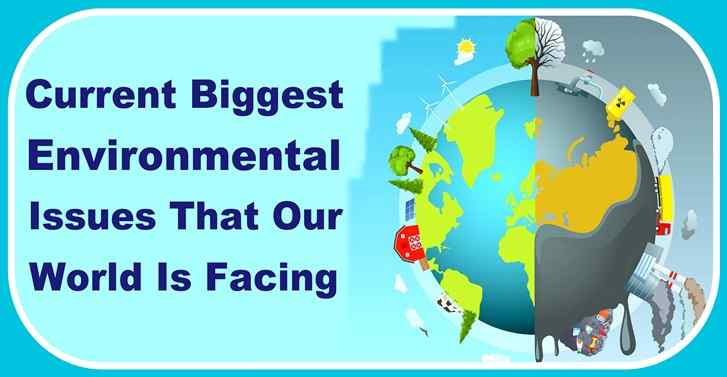 Current Biggest Environmental Issues That Our World Is Facing