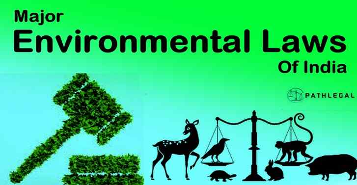 Major Environmental Laws Of India