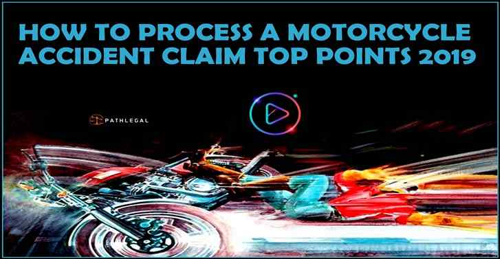 How To Process A Motorcycle Accident Claim Top Points