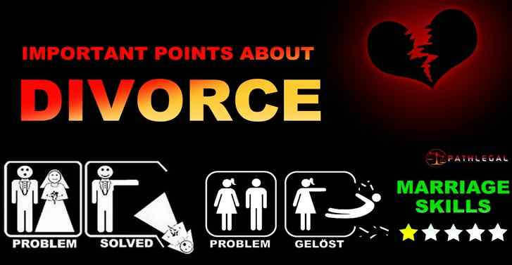Important Points About Divorce