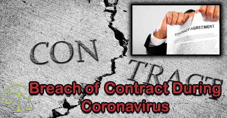 Breach of Contract During Coronavirus