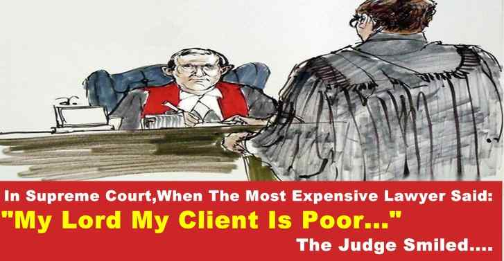 In Supreme Court,When The Most Expensive Lawyer Said: