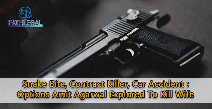 Snake Bite, Contract Killer, Car Accident : Options Amit Agarwal Explored To Kill Wife