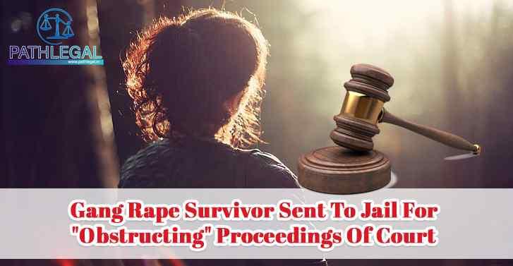 Gang Rape Survivor Sent To Jail For