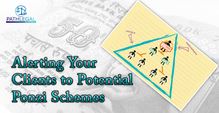 Alerting Your Clients to Potential Ponzi Schemes