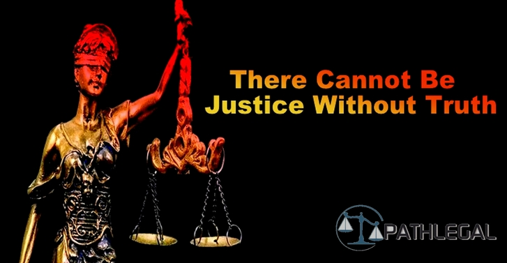 There Cannot Be Justice Without Truth