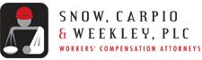 Attorney Snow, Carpio & Weekley, PLC, Compensation attorney in United States -