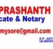 Advocate Prashanth B S, Lawyer in 0 -  (near )