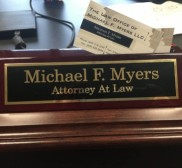 Attorney Michael F Myers, Criminal attorney in United States - Atlantic County, Cape May County; South Jersey