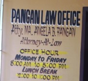 Advocate Pangan Law Office by Atty Ma Angela Pangan