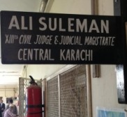 Attorney Ali Suleman, Criminal attorney in Karachi - Defence