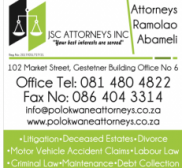 Attorney Jabulile Khoza , Lawyer in Limpopo - Polokwane (near Ellisras)