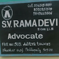 Advocate Rama Devi S V, Lawyer in Andhra Pradesh - Peddapalli (near Hyderabad)