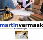 Attorney Martin Vermaak, Lawyer in Gauteng - Johannesburg (near Westonaria)
