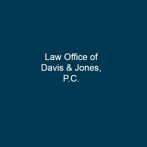 Attorney Law Office of Davis & Jones, P.C., Lawyer in Utah - Taylorsville (near Thompson)