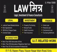 Advocate LAW Mitraa, Lawyer in Rajasthan - Kota (near Hanumangarh)