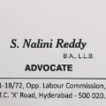 Advocate Nalini Reddy, High Court advocate in Hyderabad - Nagole