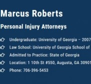 Attorney Marcus Roberts, Lawyer in Georgia - Augusta (near Abac)