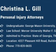 Christina L. Gill Injury Attorney, Law Firm in Duluth -